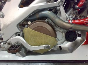 Aprilia SXV Carbon Engine Cover 1