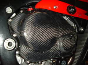 CBR1000rr 04/07 RH Cabon engine protection cover