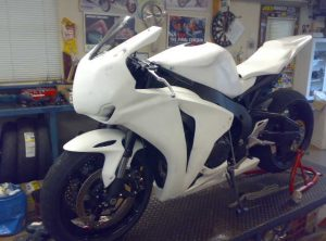 Honda CBR1000rr 08/09 Top Fairing