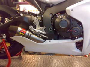 Honda CBR1000rr 08/09 Belly Pan