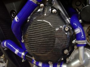Honda CBR1000rr 2008 L/H Carbon Engine Cover Proector