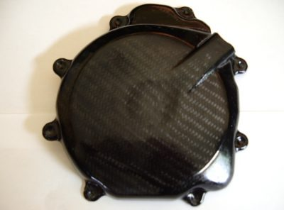 GSXR750 LH Carbon Engine Cover