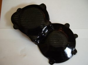 GSXR1000 K1/K8 R/H front Carbon engine protection cover