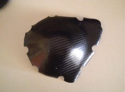 GSXR750/1100 LH Carbon Engine cover