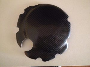 GSXR750 Carbon Clutch cover protection