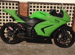 NINJA 250R 08-12 Full Fairing Kit