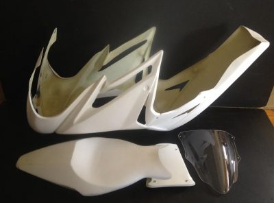 Triumph 675 Full Race Fairing kit