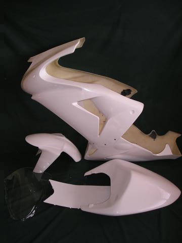 ZX10R (06-07) – Full Race Fairing kit