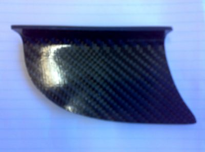 Carbon Fibre Shark Fin