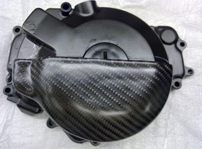 NINJA 250R L/H Carbon Engine Cover