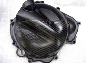 NINJA 250R R/Hand Carbon Engine Cover