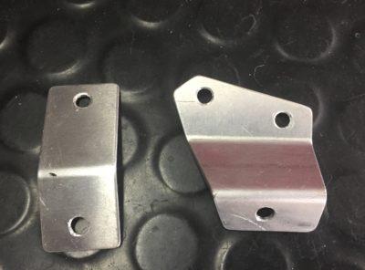 GSXR1000 L7 Belly pan fitting brackets